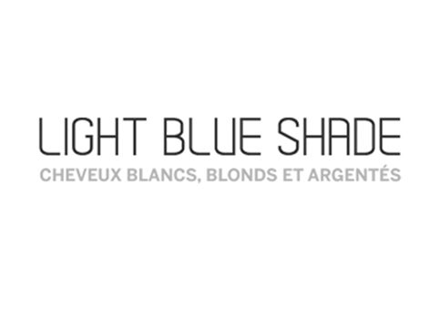 Light Blue Shade - cheveux blancs, blonds ou argentés